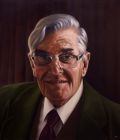 'Patrick Dockar-Drysdale' oil on canvas 50cm x 60cm. Private collection (commissioned).