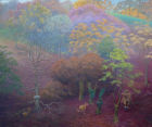 'Autumn Rise' 120cm x 100cm oil on canvas