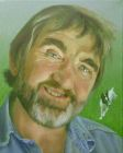 "'Andy Sivewright and Bertie' oil on canvas 8"" x 10"""